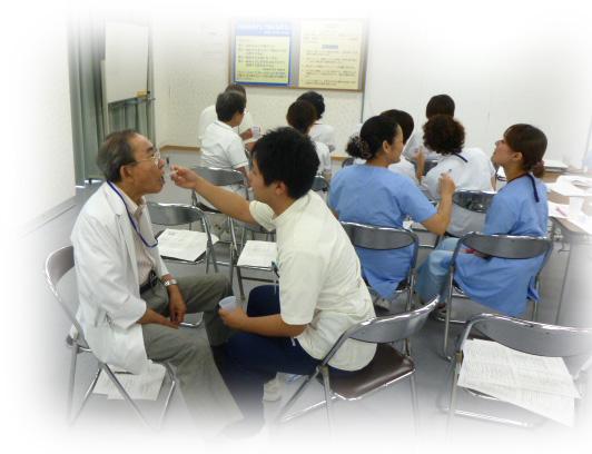 摂食機能改善チーム活動 〜看護職へのデモンストレーション〜